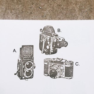 Cover which hand seal - retro camera