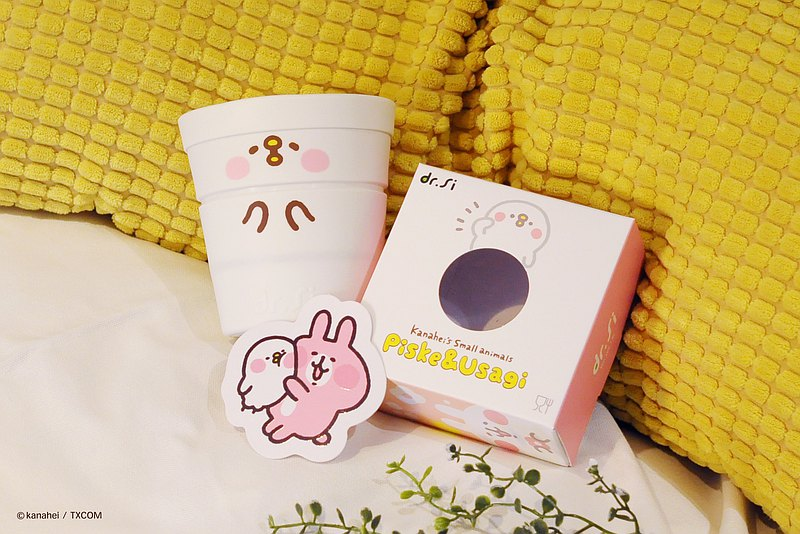Dr.Si x Kanahela's Little Animal Cute Professor Si Bao Collaboration Cup 450ml