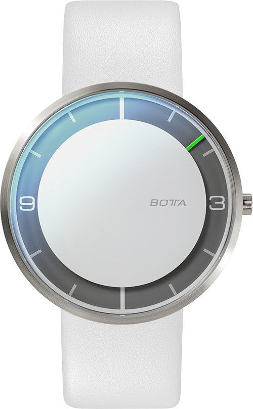 BOTTA design Botha Germany single needle design table NOVA Titan 100% Titanium Series 40mm flour minimalist style watches only 4.9mm ultra-thin design and manufacture of the German industrial designer watches 571000