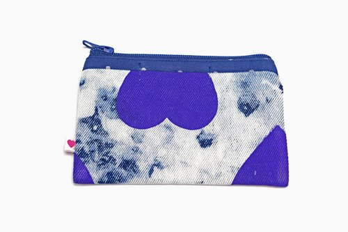 Change for the Better Denim Coin Pouch