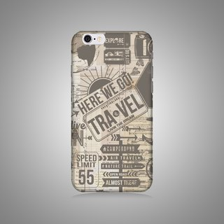 """Shell"" series - we traveled original phone shell / protective sleeve (hard shell) iPhone / Samsung / HTC / Sony / LG!"