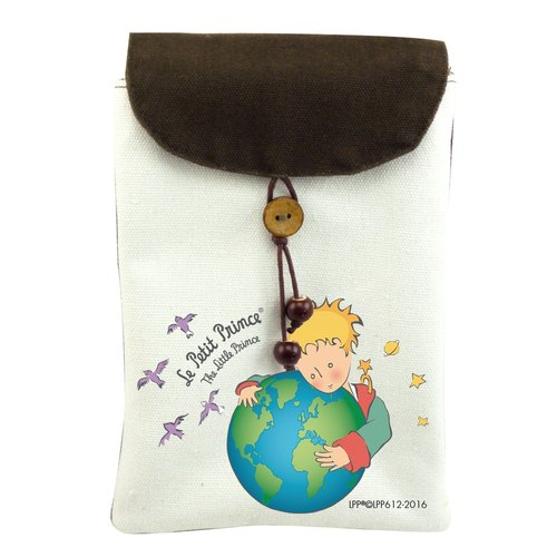 The Little Prince Classic authorization - cell phone pocket: [seventh planet - Earth] (shoulder)
