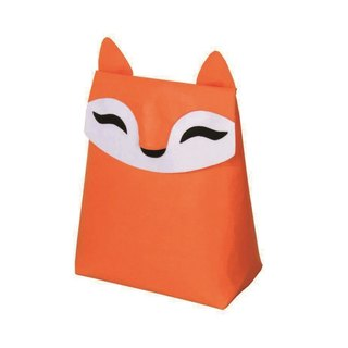 KOMPIS | Nordic Wind Cute Animal Shaping Bag - Fox / Toy Clothes Diaper Storage