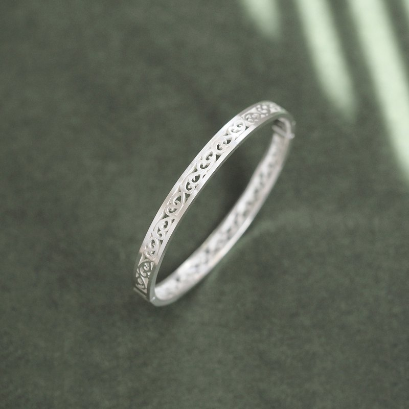 Arabesque bangle silver 925