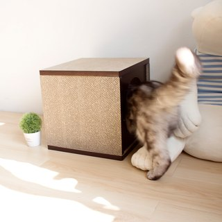 [Ange home] good pressure cat house (walnut)