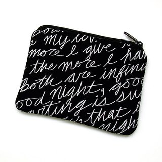 Zipper pouch / coin purse (padded) (ZS-245)