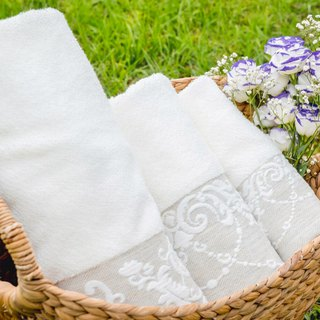 Wisteria Garden Love - Made in Portugal I Limited I Face Towels Towels - Towels