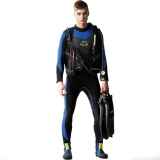 MIT one-piece suit for snorkeling
