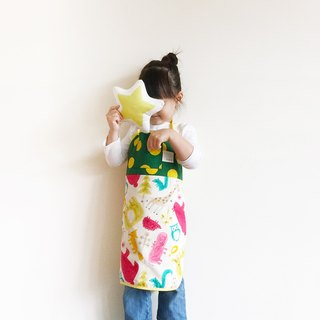 La la la [] Zoo-Wee-Mama paternity Apron (villain paragraph) / limited hand / kitchen baking a good thing