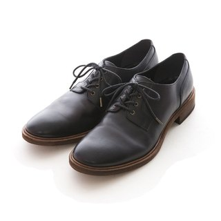 ARGIS Vibram leather sole Derby gentleman shoes #21342 gentleman black - Japanese handmade
