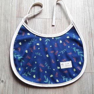 Pakistani forest bib (dark blue wool cloth)
