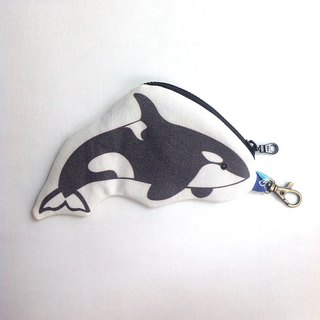 Design No.KW140 - 【Cotton Canvas】Killer Whale Purses