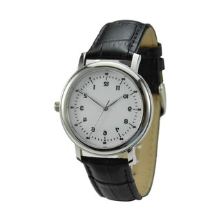 Backwards Numbers Watch Elegant  - Unisex - Free shipping worldwide