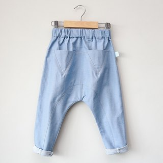 [My little star] Dan Ninglun organic cotton pants (light) Seasons subsection