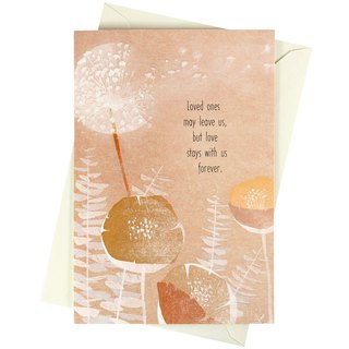 Still knowing that love never stops (Hallmark - Card Festival)