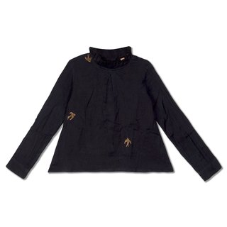 Chavi Girl' Navy Blue Shirt