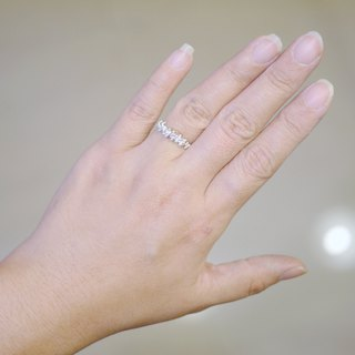 【Gold Charlene sterling silver】 Morning dew ring