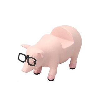 SUSS-Japan Magnets cute animal series decoration / modeling glasses frame / glasses holder (small pig)
