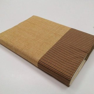 Exquisite A6 cloth book clothing ~ light goose yellow (single product) B04-033