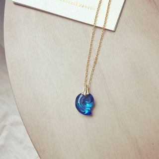 Sea stone necklace dream K14FG