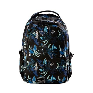"SOLIS  Paradise Series 15"" Ultra+  basic laptop backpack(Tropical Blue)"