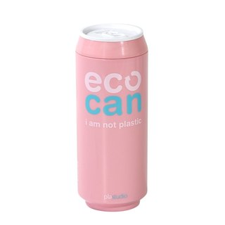 PLAStudio-ECO CAN-420ml-Made from Plant-Pink