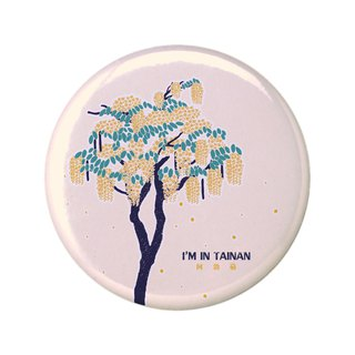 Tainan is a flower series original design pins