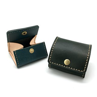 Leather Coin Purse (16 colors / engraving service)