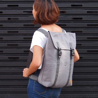 Simply Collection - Gray (Convertible Backpack Tote, Backpack, Bag, Tote Bag, Cloth, Canvas, Notebook, Laptop, Sleeve, Transform)