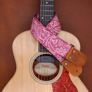 Red Phathong Thai Guitarstrap