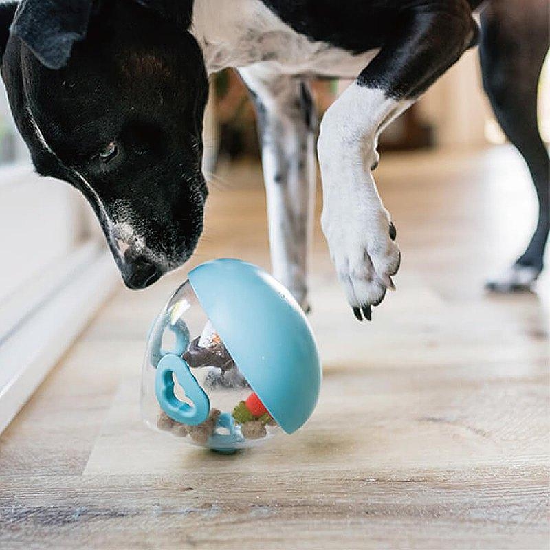 寵物益智玩具 狗狗訓練 沃比搖擺球2.0版 漏食玩具