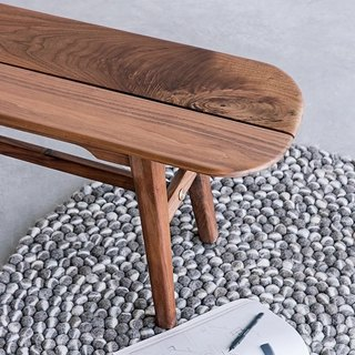 Xi Shan Kobo - wood wood bench, benches, dinette -150cm