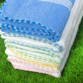 Large bath towel [transparent PET bottle recycling environmental fiber fabric]