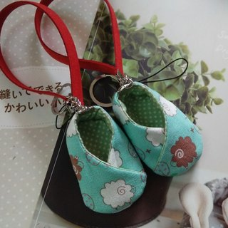 Lake green sheep 咩 咩 wedding gifts good luck shoes strap decorated with good pregnant shoes