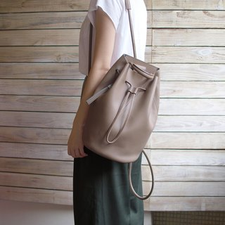 Bucket Bag-warm grey