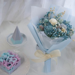 Blue Fragrance Dry Bouquet - Optional Fragrance