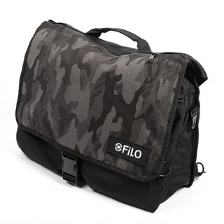 NYLON MESSENGER CAMO