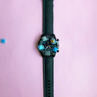 Silicone Black Lego  Watch Monster
