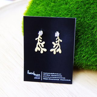 Earrings Tiny Mistletoe