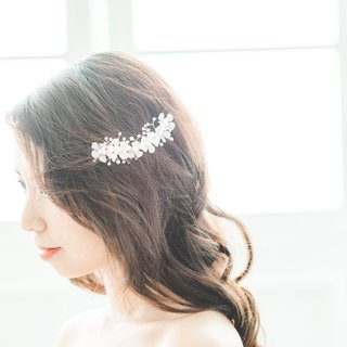 Tung Tree Flower/bridal accessory/hair accessory/handmade