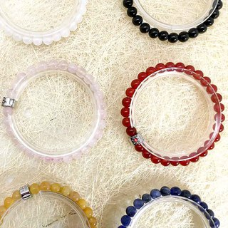 6mm Beads Precious Stones Bracelet Options Exquisite Gift Box