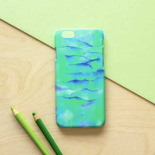 Blue and Green Mountain . Matte Case(iPhone, HTC, Samsung, Sony)