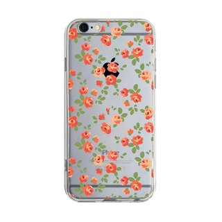 Ordered English garden (Camellia) Transparent Samsung S5 S6 S7 note4 note5 iPhone 5 5s 6 6s 6 plus 7 7 plus ASUS HTC m9 Sony LG g4 g5 v10 phone shell mobile phone sets phone shell phonecase