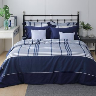 (Extra large) Moonlight - Scottish Concerto - High-quality 60 cotton dual-use bed pack four-piece group 6*7 feet