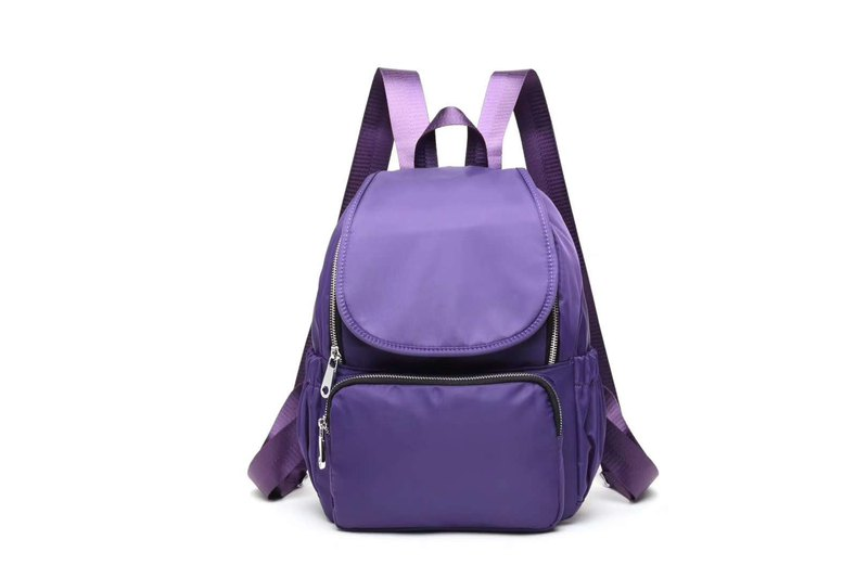Backpack Backpack Unisex New Lightweight Waterproof Fashionable Wild Classic Purple