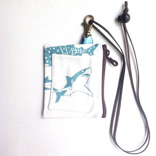 Design No.SH186 - 【Shark Pattern】Card Holder Purses