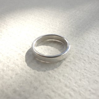 Sterling Silver - Classic Plain Ring - Can be purchased inside or outside lettering