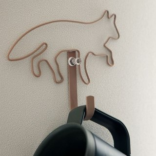Dailylike wall coat hook (single) - Fox 1, E2D47968