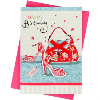 Sincerely wish you a beautiful day every day [Hallmark-handmade card birthday greetings]