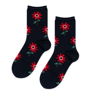 Sc. GREEN Lifestyle Flower Lola/Stocking Socks/Socks/Comfort Socks/Women